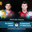 SRH VS GL full match prediction and schedule