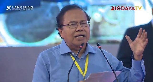 Rizal Ramli: Kata Gus Dur, Prabowo Paling Ikhlas