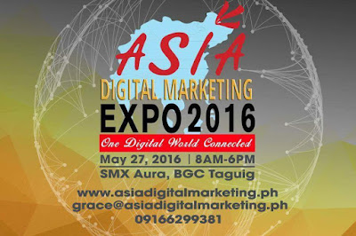 Asia Digital Marketing Expo 2016: One Digital World Connected