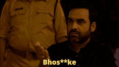 Bhos**ke | Mirzapur Meme Templates