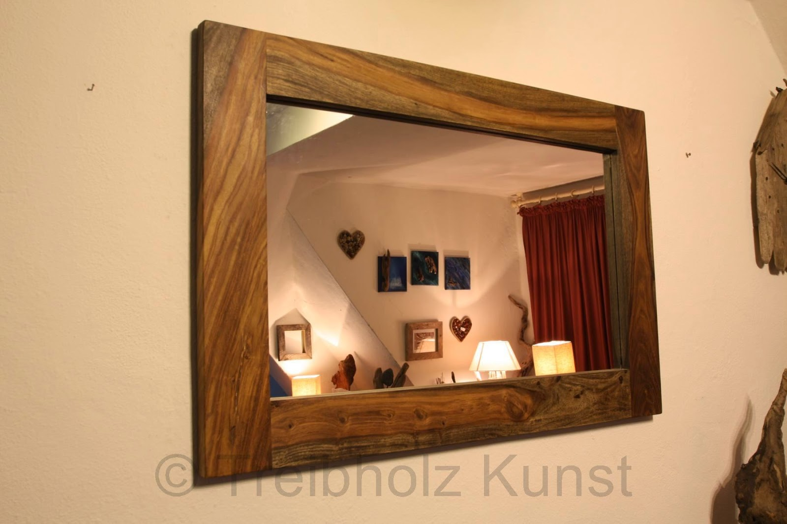 Treibholz natur kunst diy 2014 for Spiegel 90x60