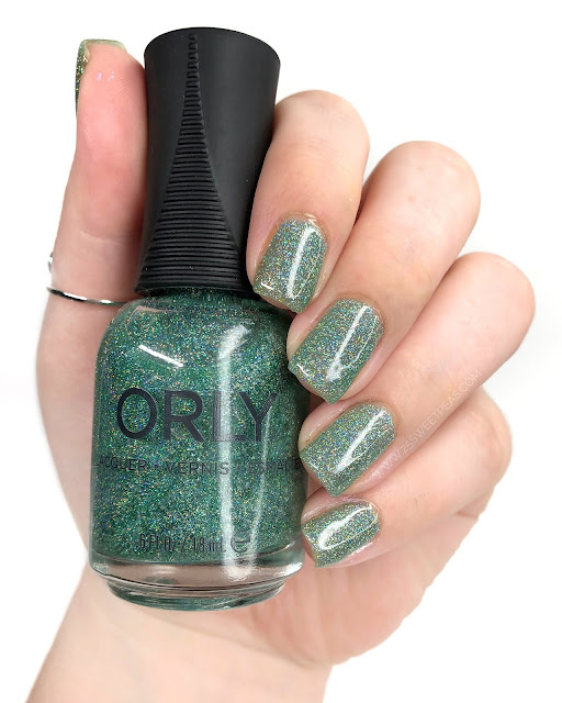 Orly Sparkling Garbage 25 Sweetpeas