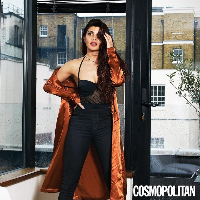 Jacqueline Fernandez Poses For Cosmopolitan Magazine June 2017