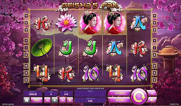 Main Gratis Slot Indonesia - Geisha's Fan Tom Horn Gaming