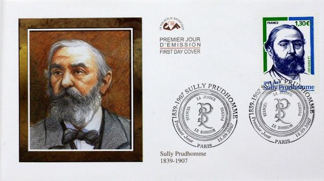 Sully Prudhomme France 2007 Envelope Cover 1er Day FDC