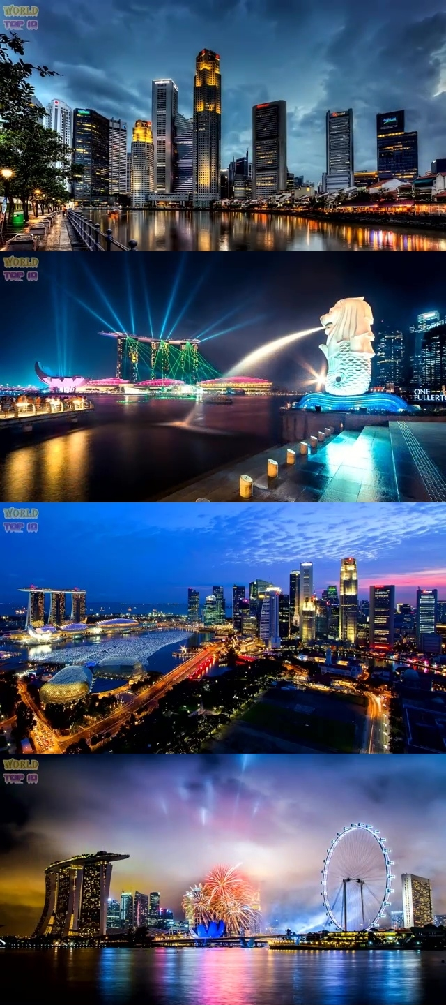 TOP 10 MOST BEAUTIFUL CITIES IN ASIA 2019 1. Singapore