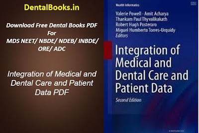 Integration of Medical and Dental Care and Patient Data PDF
