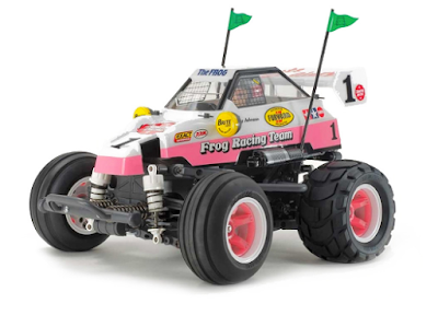 Here are some instructions about how to enter the Tamiya Comical Frog RC Sweepstakes for your chance to win some really great prizes!