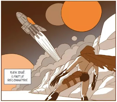 Captain Death, Alexis Bacci, bande dessinée