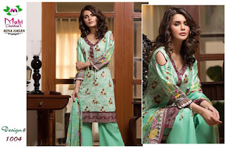 Mina Hasan Mahi Pakistani dress Material