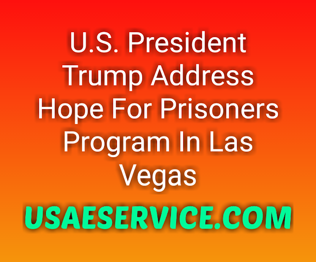U.S. Hope For Prisoners Program In Las Vegas