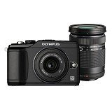 OLYMPUS E PL2 TRAVEL KIT BLACK