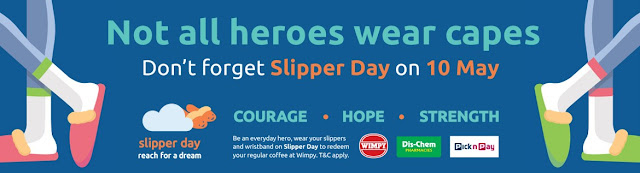 Not All Heroes Wear Capes, But On #10May2019 They Wear @ReachForADream Slippers #SlipperDay2019 #InspiringHope