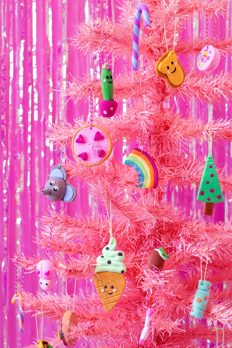 diy clay christmas tree decorations