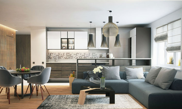 Stylish Modern Studio Apartment Ideas
