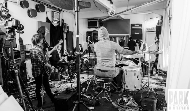 Brandy Row and the Coalition of Sound   Birmingham Recording Studio   Park Studios JQ  