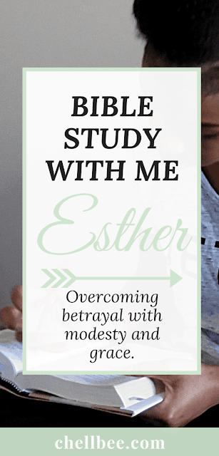 Bible study for women | Study the book of Esther with me! This book shows how God rewards obedience, wisdom, and bravery. Bible study plans | bible study printables | scripture studies | bible study reading plans #bible #biblestudy