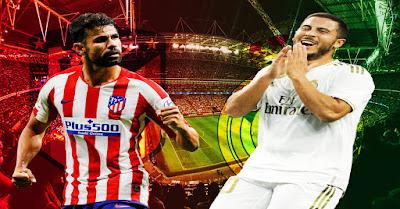مباراة أتلتيكو مدريد و ريال مدريد و هازارد يوجه رسالة لدييغو كوستا