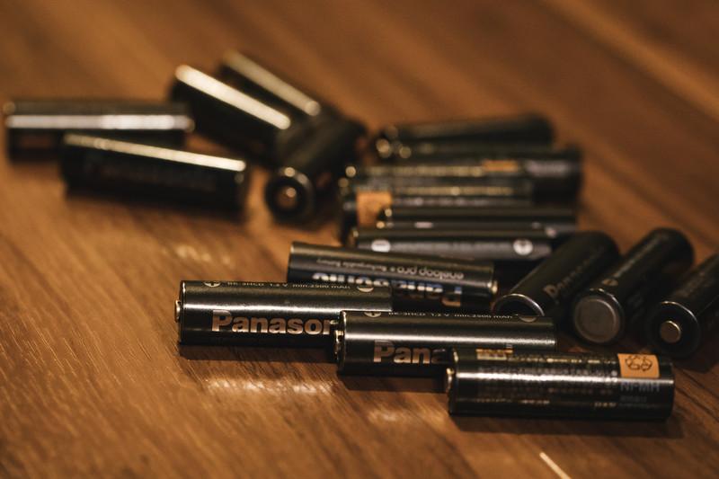単三乾電池の写真