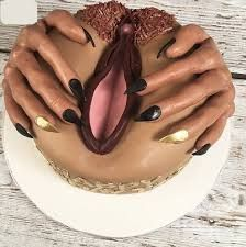 Image of a Pussy Cake