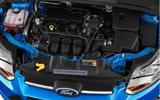 2017 Ford Focus Sedan 1.0-Liter Engine