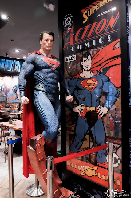 dc-comics-superheroes-cafe-sky-avenue-genting-highlands-review