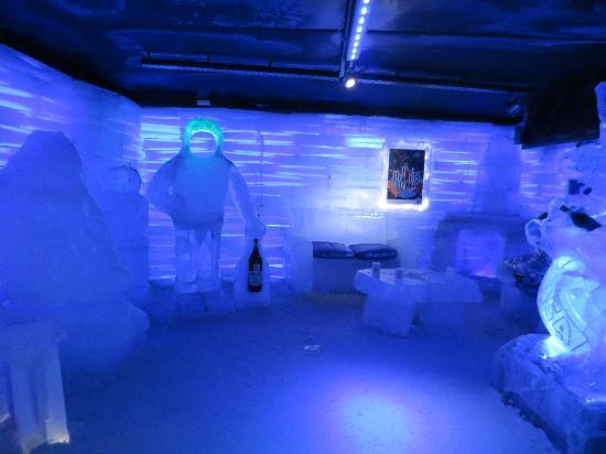 Bar Glaciarium em El Calafate