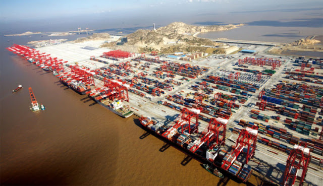 ميناء شنغهاي الصيني - Port of Shanghai – الميناء الأكبر في العالم6
