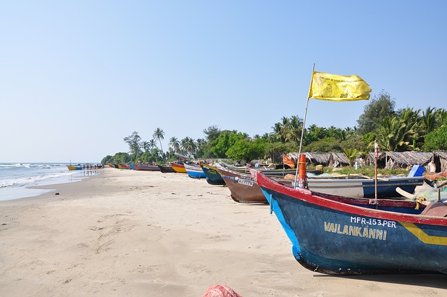 Goa is the land of beaches