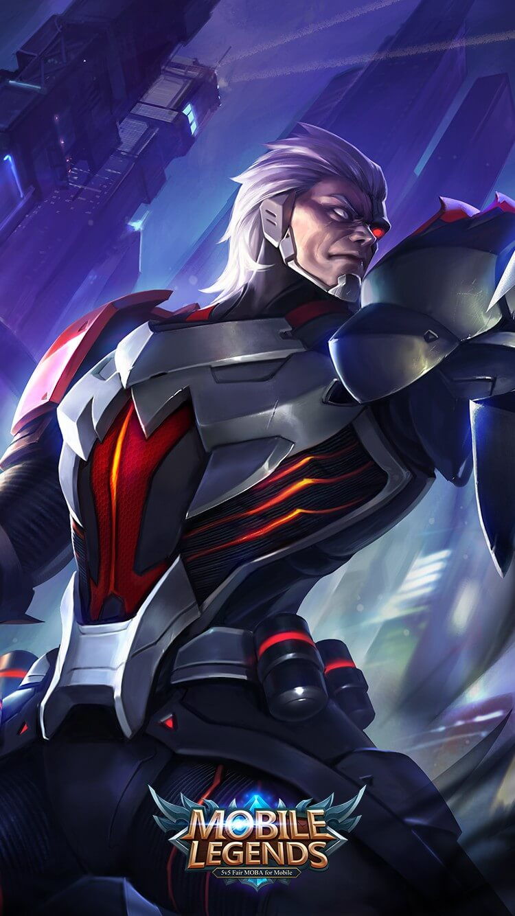 Wallpaper Moskov Snake Eye Commander Skin Mobile Legends HD for Android and iOS