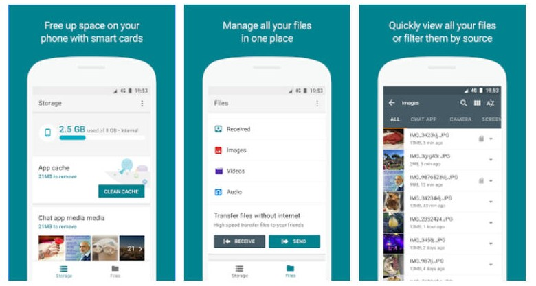 Files Go, Google's New Android File Manager And Sharing App
