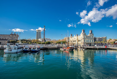 Barcelona Port_by_Laurence Norah