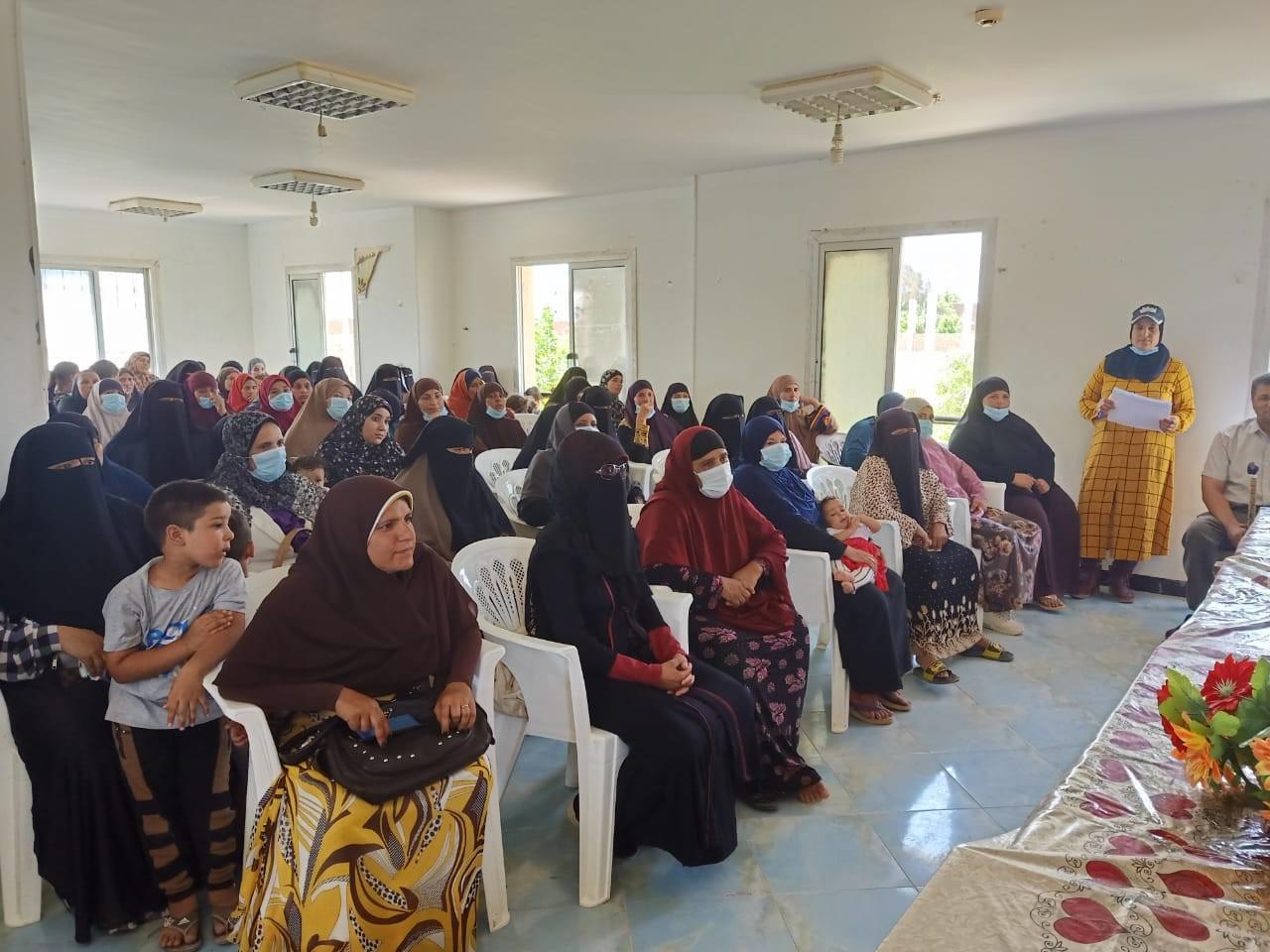 """""""تنمية المشروعات"""" يعقد ندوات لتوعية السيدات في محافظات """"حياة كريمة"""""""