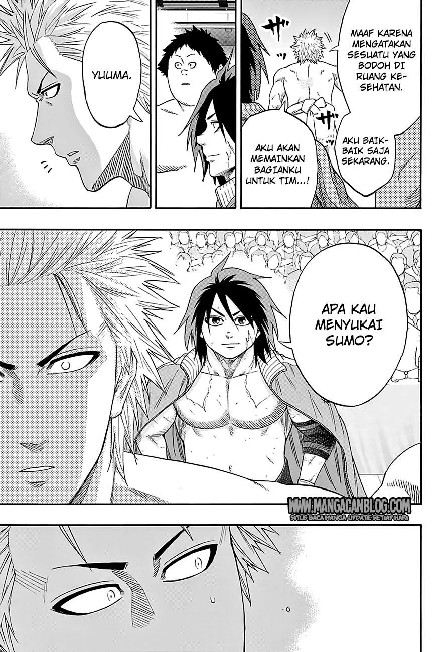 Hinomaru Zumou Chapter 140-4