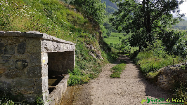 Fuente de Sirriella, Tuiza de Arriba