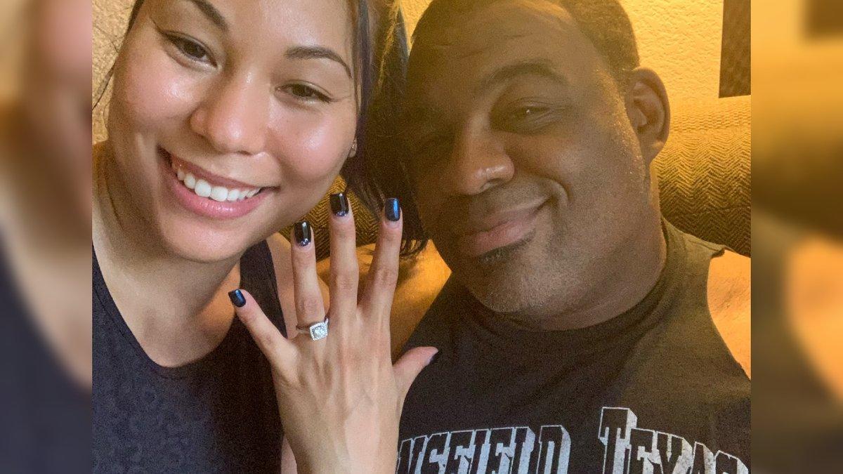 Mia Yim e Keith Lee se tornam noivos