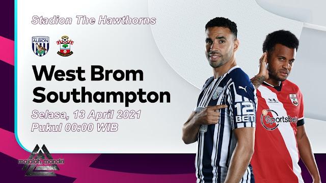 Prediksi West Bromwich Albion Vs Southampton