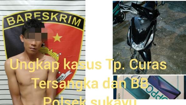 Pelaku Curas Ditangkap  Buser Polsek Sekayu