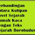Temukanlah Bukti Perbandingan Antara Teks Sejarah Borobudur dengan Kutipan Novel Sejarah Rumah Kaca