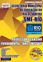 Apostila SME - RJ Professor Geografia e Matemática - Concurso SME-RIO 2016