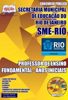 Apostila SME - RJ Professor Geografia e Matemática - Concurso SME-RIO