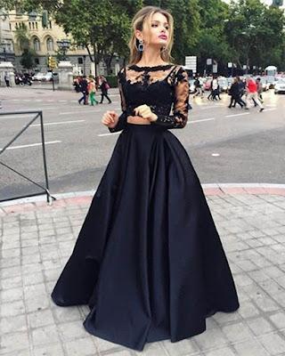 vestido corte princesa tumblr
