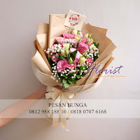 jual handbouquet korea style, handbouquet vintage, madame florist, florist jakarta utara