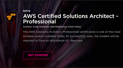 Best Pluralsight course to Crack AWS Solution Architect - Professional certification