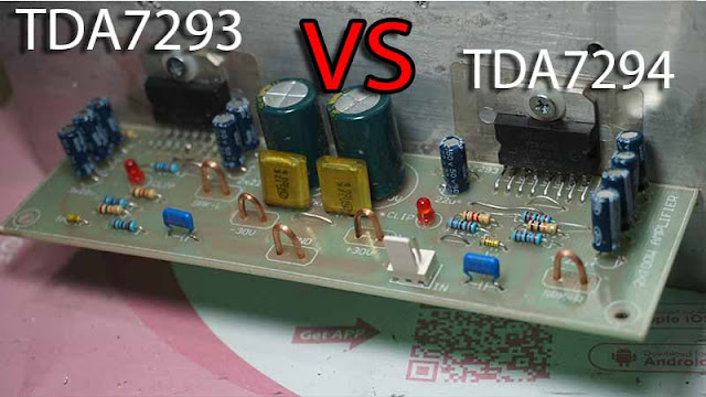 TDA7293 VS TDA7294 Power Amplifier
