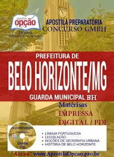 Apostila Guarda Municipal de Belo Horizonte - Concurso da GMBH