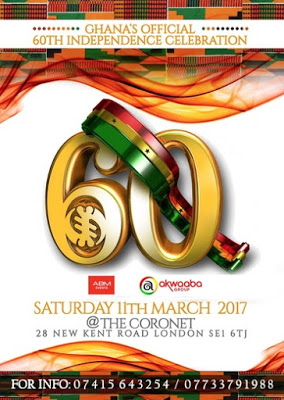 The Official Ghana 60th Independence Celebration At The Coronet