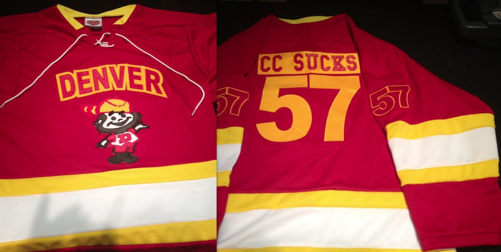 LetsGoDU  Special Order Custom Made Hockey Jerseys b51021a6e