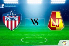 Atlético Junior vs Deportes Tolima