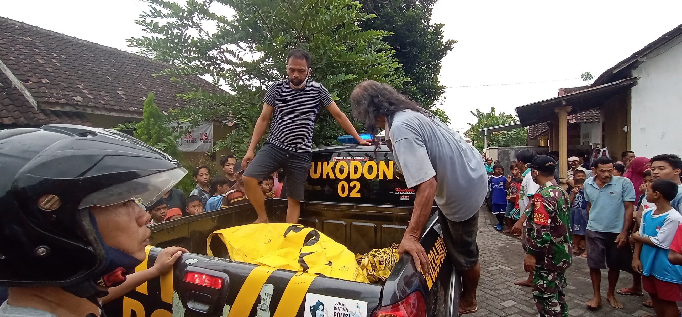 Mayat Laki-Laki Tanpa Identitas Ditemukan di Aliran Sungai Kaliasem